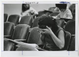 [Student in Lecture Hall, 1967]