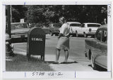 [Woman Standing Beside Mailbox, 1967]