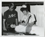[Student Participating in Blood Drive, 1972]