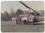 [Group Photo by Helicopter, 1976]