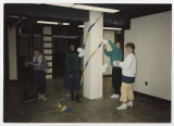 [Students Placing Decorations, 1988]