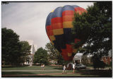 [Air Balloon on Campus, Early 1990s]