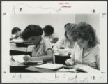 [Working in a Classroom, 1980s]