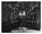 [Gates at Chinqua-Penn Plantation]