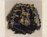 Architectural Drawing of Tower Village 1 Residence Hall