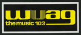 WUAG promotional sticker