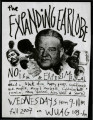 "[Flier for ""The expanding earlobe""]"