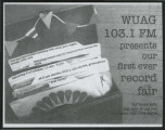 [WUAG record fair flier]